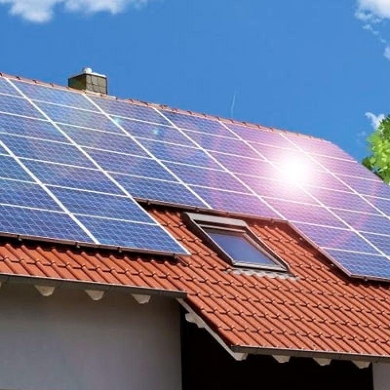 Empresa de Energia Solar para Casa Anália Franco - Kit de Energia Solar