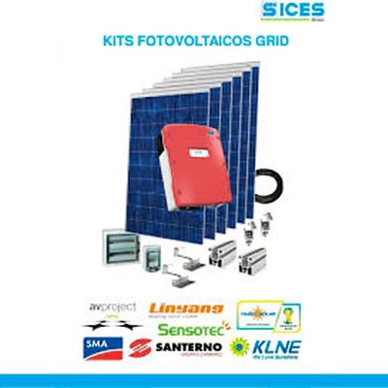 Empresa de Kit Energia Solar Fotovoltaica Higienópolis - Kit de Energia Solar