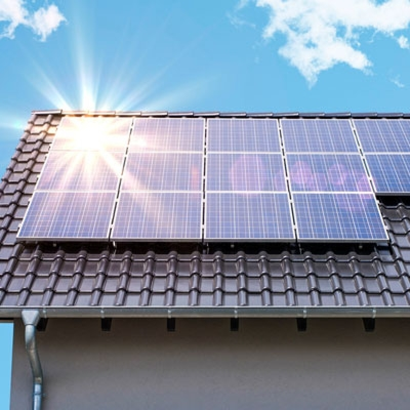 Energia Solar Residencial Valor Parque São Rafael - Energia Solar Fotovoltaica