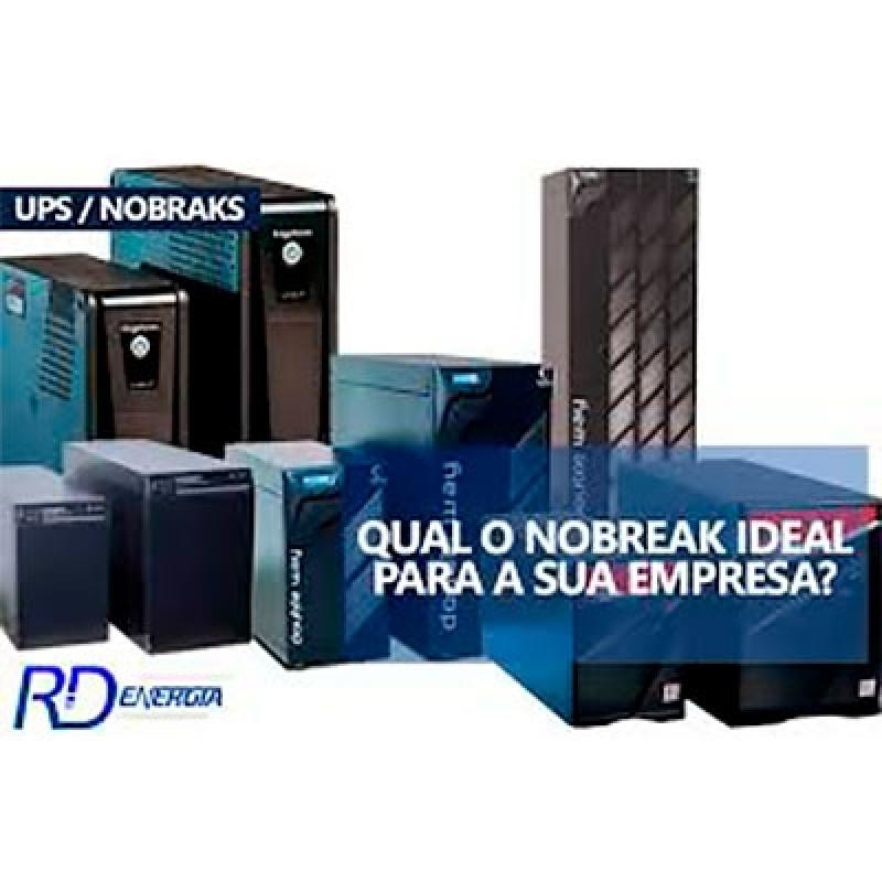 Manutenção Nobreak Preventiva - RD Energia
