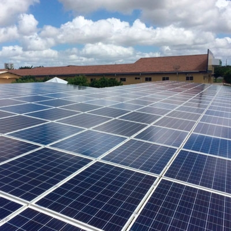 Painel de Energia Solar Valor Chácara do Piqueri - Energia Solar Fotovoltaica