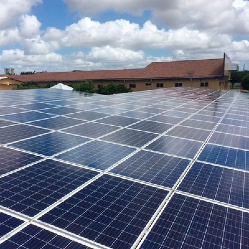 Placa de Energia Solar Valor São Vicente - Kit de Energia Solar