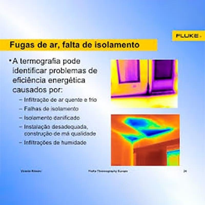 Termografia Edifícios São Vicente - Termografia em Edifícios