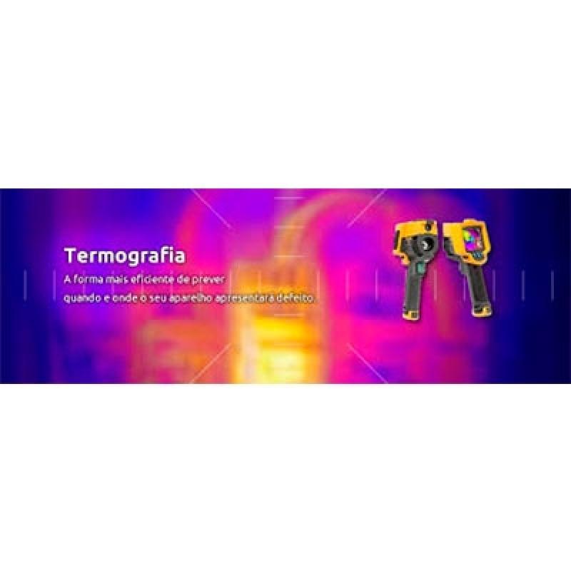 Termografia por Infravermelho Ilhabela - Termografia Manutenção Preditiva