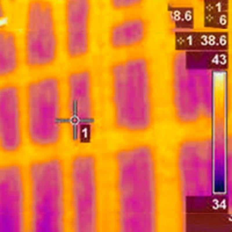 Termografias Edifícios Cidade Quarto Centenário - Termografia em Edifícios