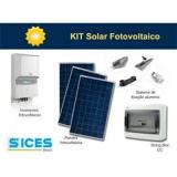 kit energia solar residencial valor Bom Retiro