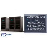 manutenção de nobreak preventiva orçamento Vila Romana