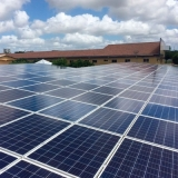 placa energia solar valor Santa Cruz