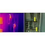termografias manutenções preditivas Taubaté